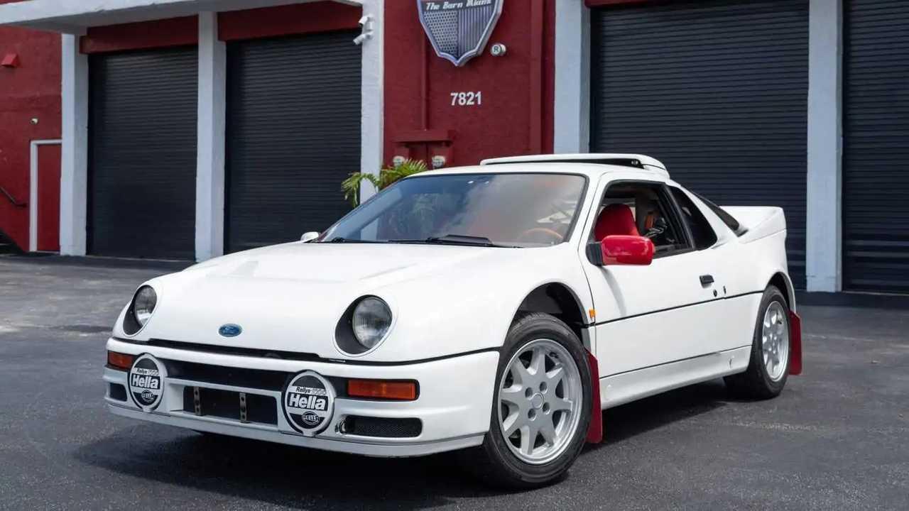 Ford RS200 homologado Grupo B 1986 a subasta