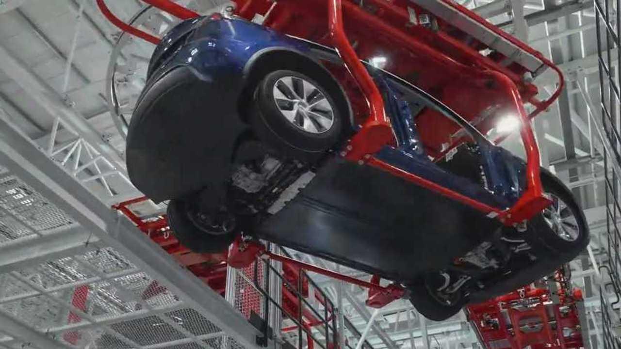 Tesla Gigafactory 3 Phase III Inside 4K (source: Tesla via Jason Yang)