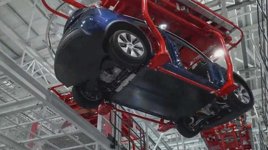 Watch How Tesla Produces EVs At Giga Shanghai
