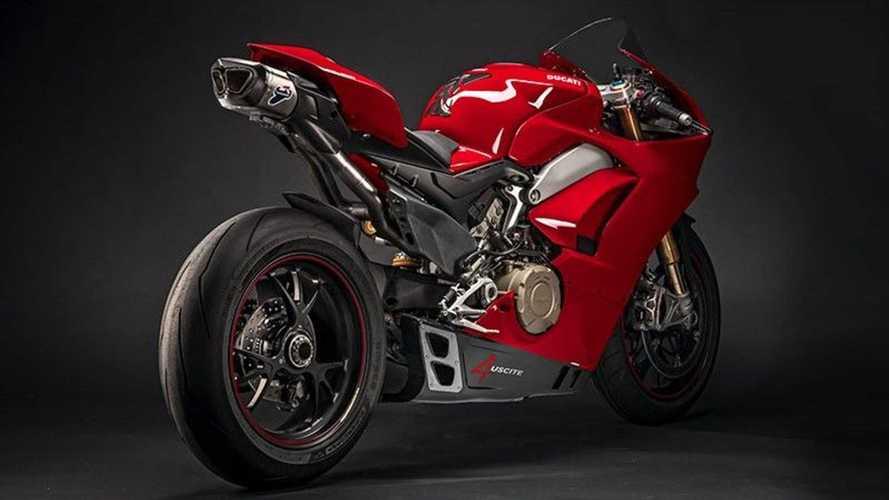 Termignoni 4 Uscite Exhaust System: Ducati Panigale V4