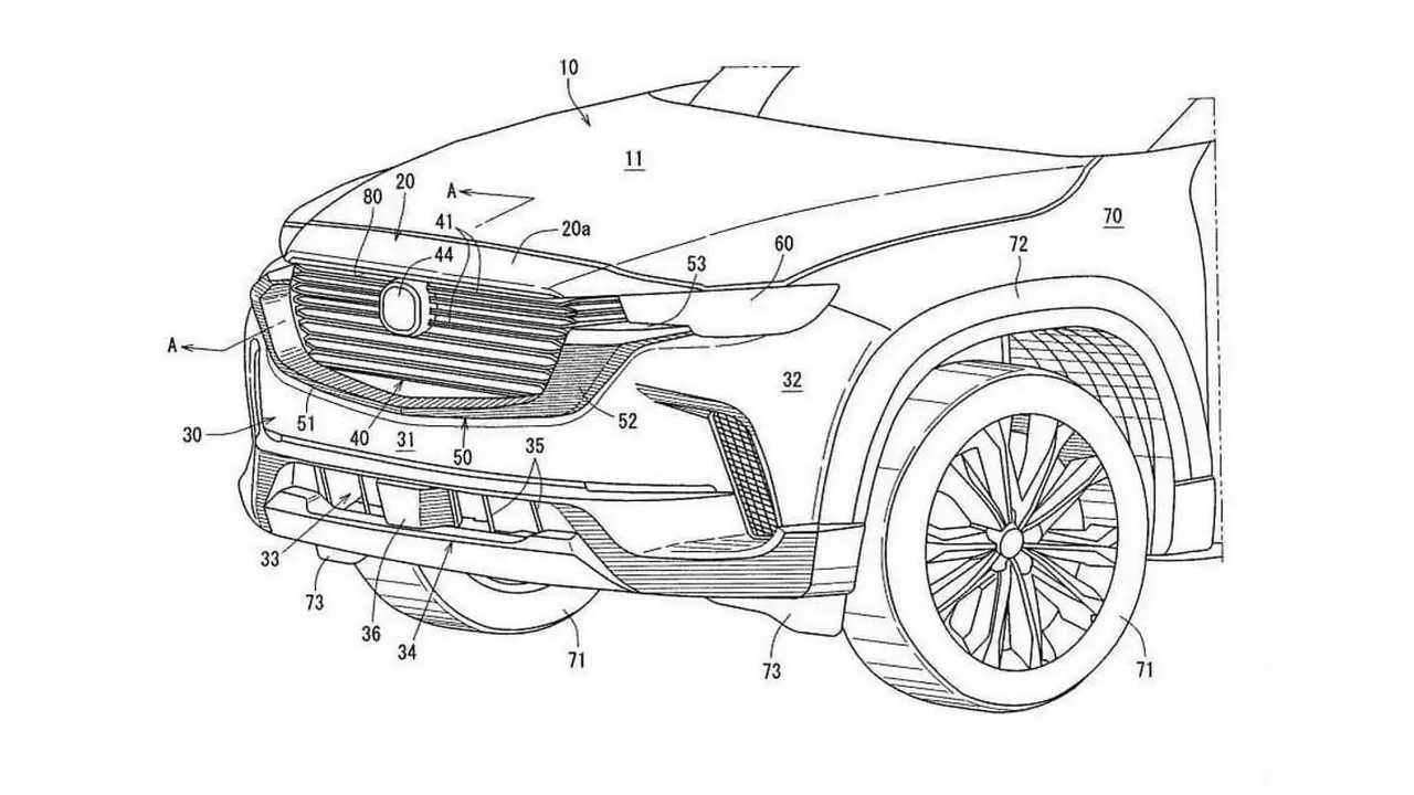 2023 Mazda CX-50 patent image