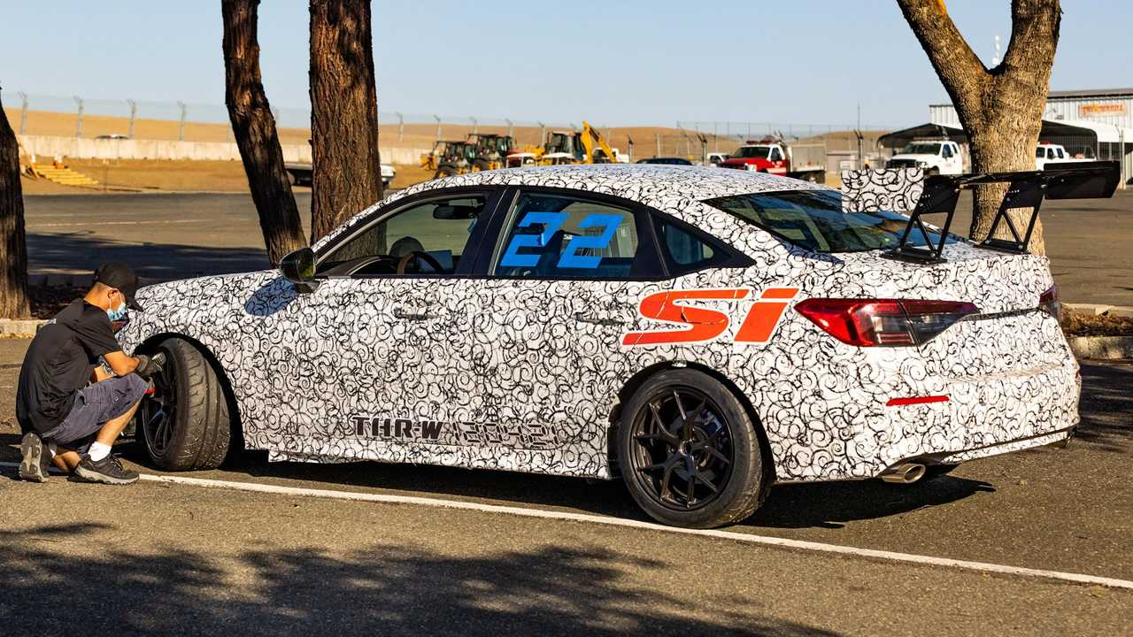 Novo Honda Civic Si 2022 Teasers
