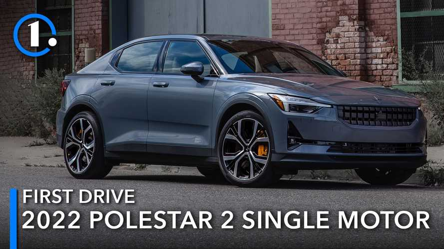 2022 Polestar 2 Single-Motor First Drive Review: The Long-Awaited Contender