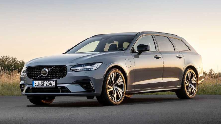 Die Volvo Recharge-Modelle schaffen jetzt bis zu 90 km elektrisch