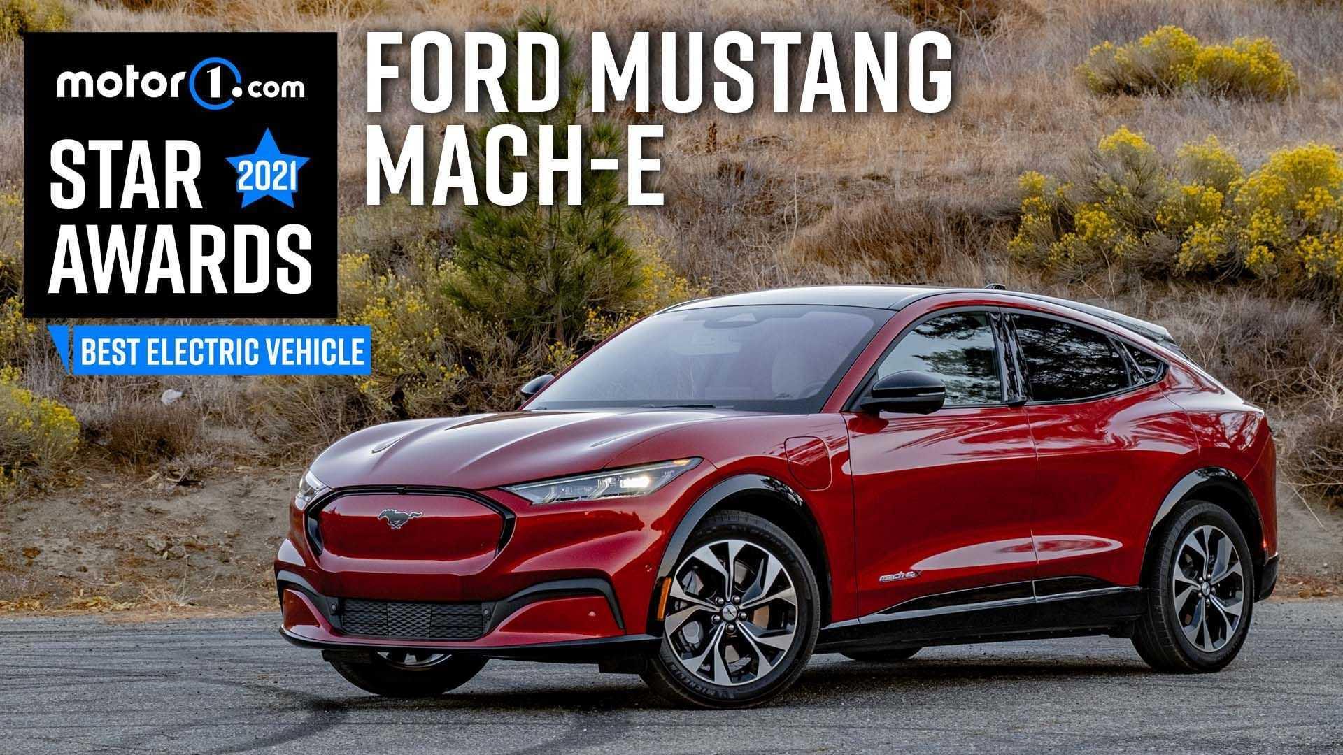 2021 Ford Mustang Mach-E Wins Motor1 Star Award For Best EV
