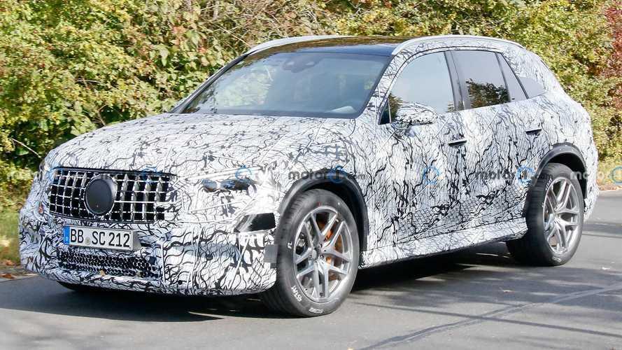 İlk kez görüntülendi: 2023 Mercedes-AMG GLC 63 Nürburging'de