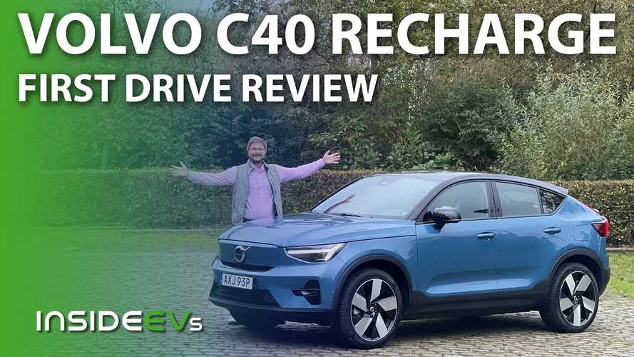 InsideEVs First Drive Review: 2022 Volvo C40 Recharge Twin eAWD