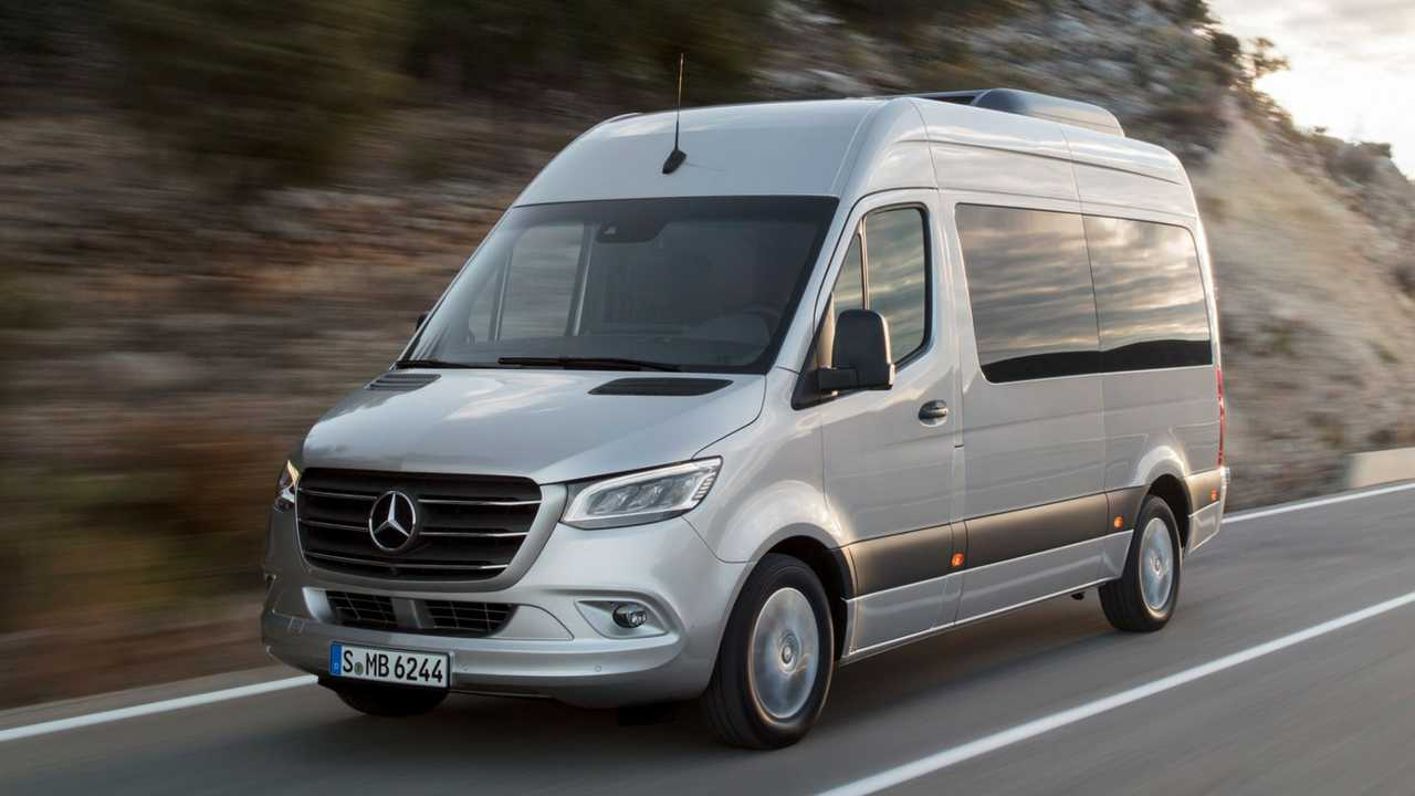 Mercedes Sprinter (2021) Verkaufsstart