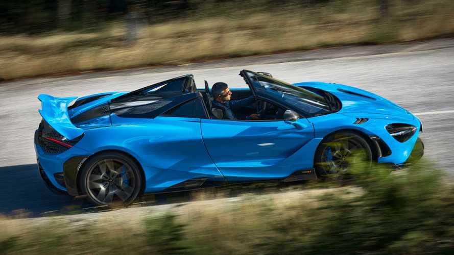 765LT Spider Debut, Convertible Paling Kuat dalam Sejarah McLaren