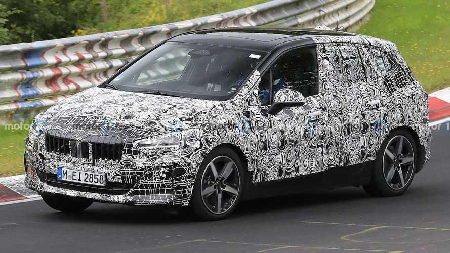 Шпионские снимки BMW 2-й серий Active Tourer