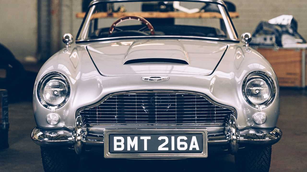 Aston Martin DB5 No Time To Die Special Edition