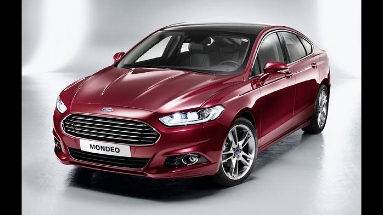 Ford lançará novo Mondeo na Europa em outubro, após dois anos de atraso