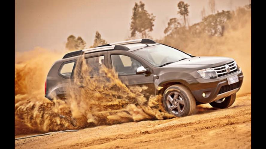 Renault divulga novidades para Duster, Logan e Clio na linha 2012/2013