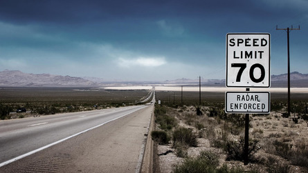 Study Lists U.S. States That Issue Most/Least Speeding Tickets