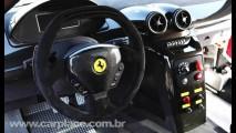 Ferrari 599XX 2010 - Reveladas novas imagens do esportivo de 700cv com tecnologia de F1