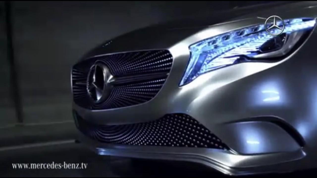 VÍDEOS mostram mais detalhes do inovador Mercedes Classe A Concept