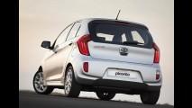Kia Picanto 2012 chega custando a partir de R$ 34.900 - Veja conteúdo das versões