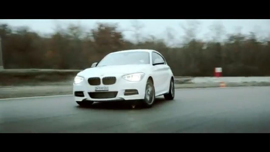 """Vídeo: BMW promove a """"canção de natal mais rápida do mundo"""" com o novo M135i"""