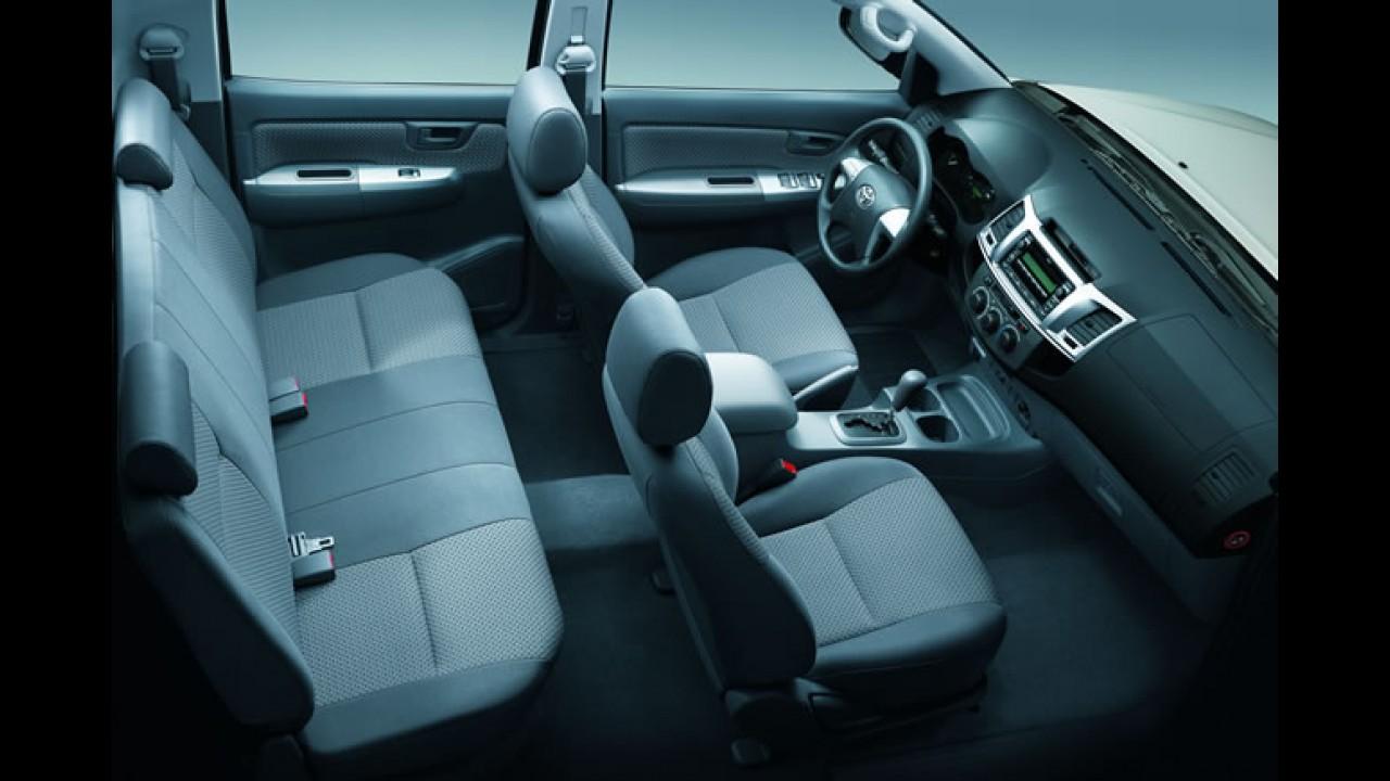 Toyota lança linha Hilux e SW4 2012 com motor 2.7 VVTi Flex