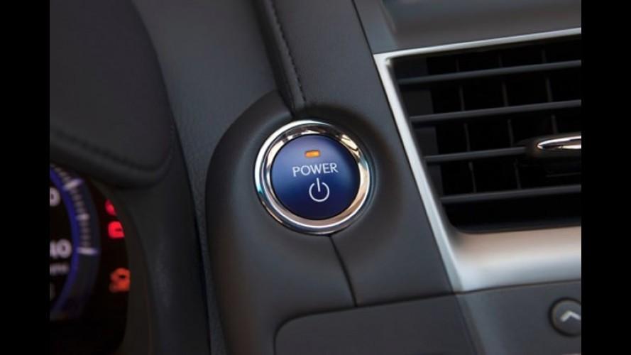 """Estados Unidos planeja """"botão de pânico"""" para desligar o carro com partida sem chave"""