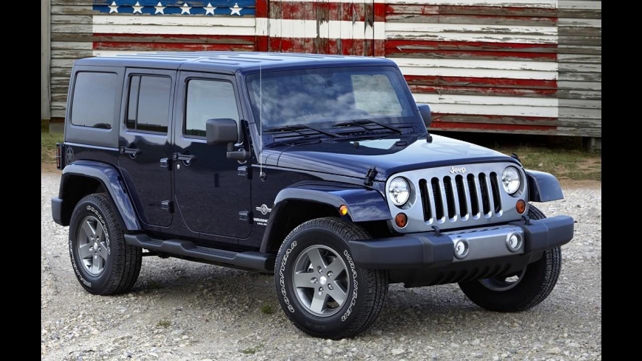 Jeep faz recall do Wrangler no Brasil para reparar vazamento de fluidos
