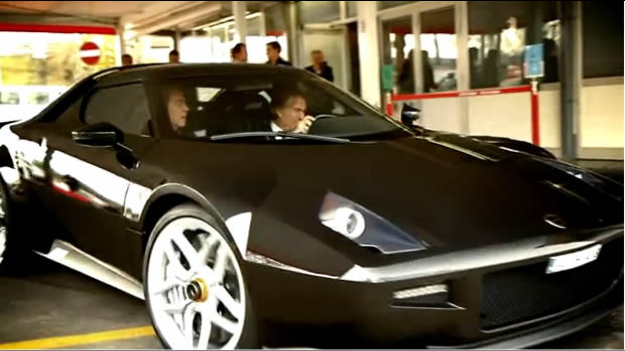 CEO da Ferrari: Luca di Montezemolo testa o novo Lancia Stratos