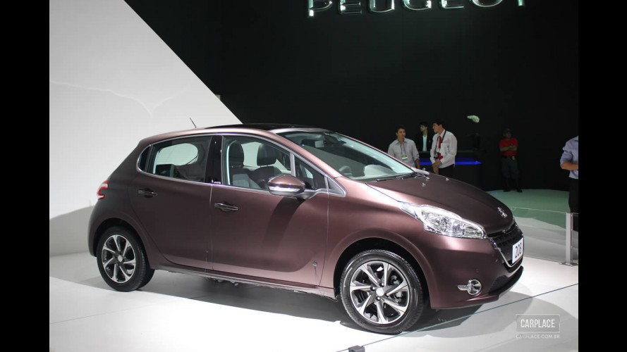 Peugeot marca data de lançamento do 208 no Brasil