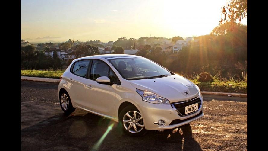 Garagem CARPLACE 5#: 1.200 km de viagem e consumo do 208 com gasolina