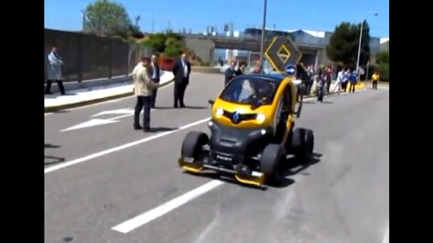 Vídeo: vitaminado, Renault Twizy F1 vai para pista