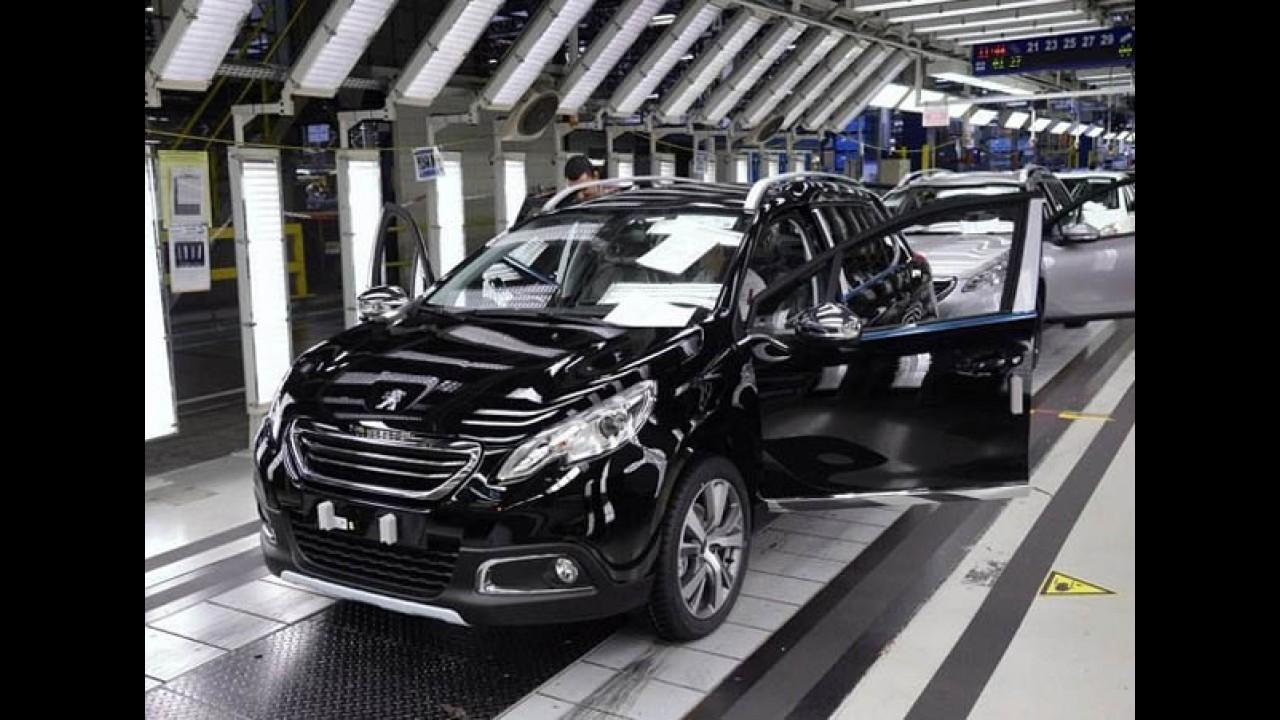 Futuro nacional, Peugeot 2008 chega a 200 mil unidades produzidas na França