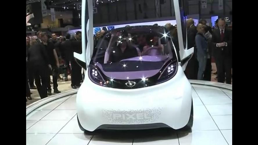 VÍDEO: Tata Pixel Concept em Genebra é o futuro do Nano?