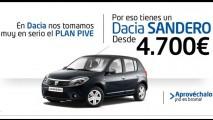 Queima de estoque: Dacia Sandero a partir de 4.700 euros na Espanha
