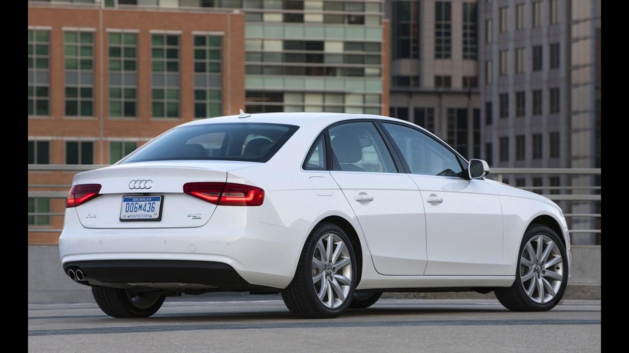 Para se afastar do A3 Sedan, Audi irá rechear próximo A4