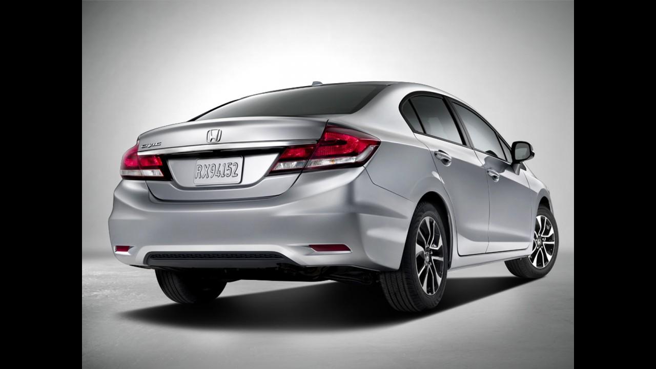 "Honda Civic 2013, reestilizado e ""top"", custa R$ 61.522 no Peru"