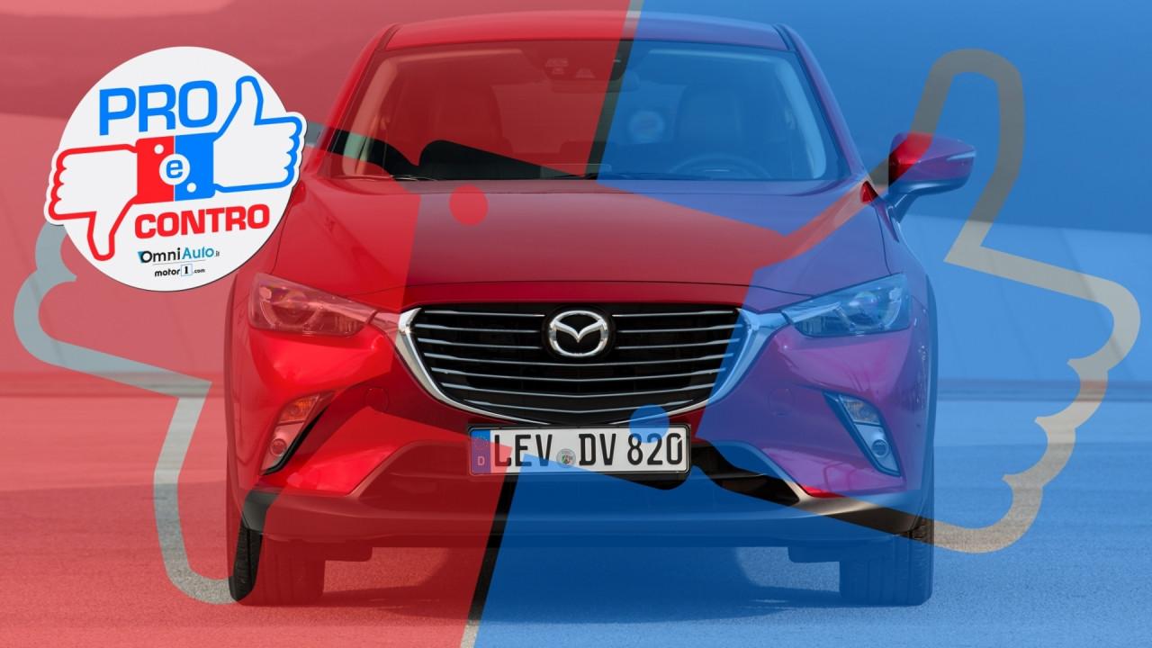 [Copertina] - Mazda CX-3 1.5 AWD Luxury Edition, Pro & Contro