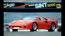 Ferrari F40, le foto storiche