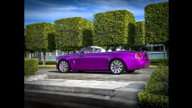 Rolls-Royce Dawn Fuxia Pebble Beach