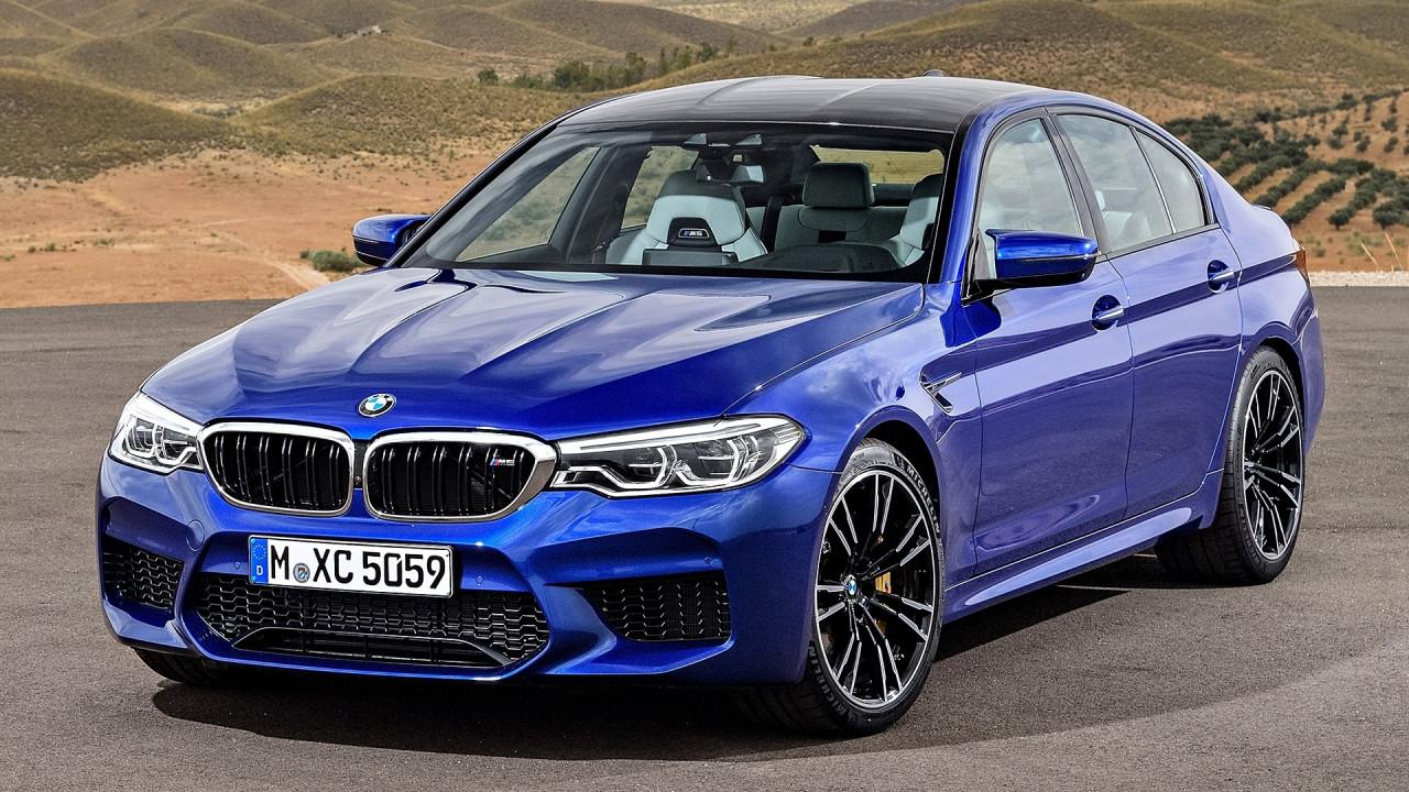 [Copertina] - Nuova BMW M5,  trazione posteriore o integrale a scelta