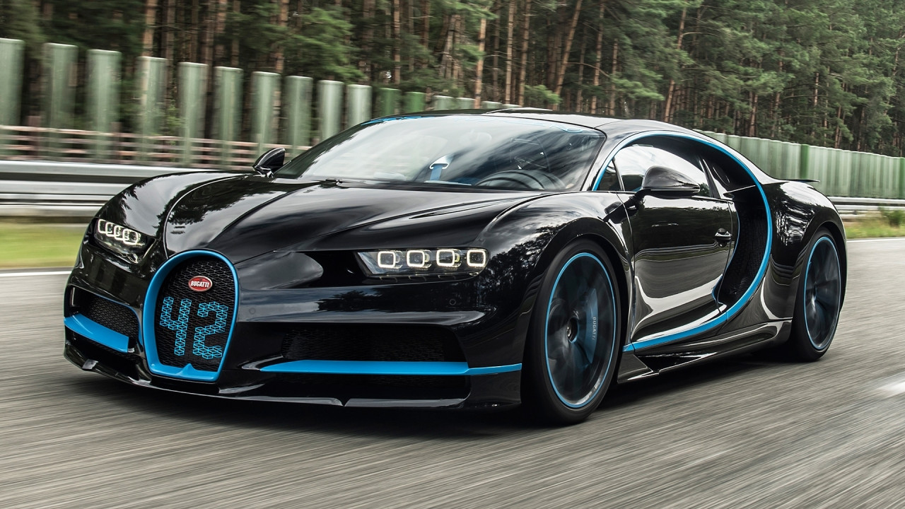 [Copertina] - Bugatti Chiron da record: 0-400-0 km/h in 42 secondi