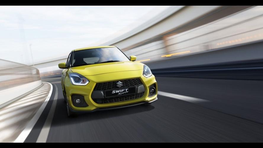Nuova Suzuki Swift Sport, giapponese col turbo