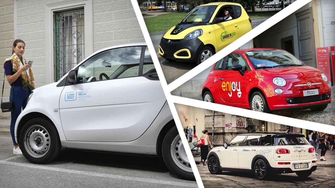 [Copertina] - Car sharing, le tariffe 2017 a confronto