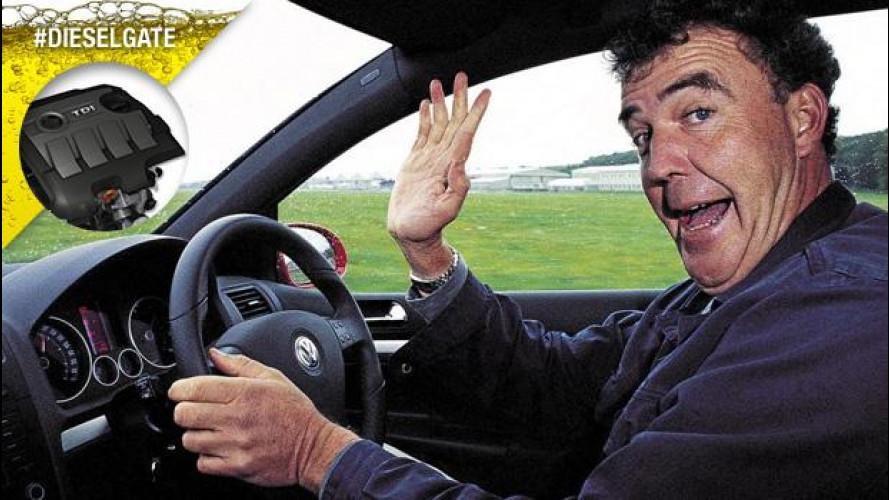"Dieselgate, Jeremy Clarkson dice la sua: ""Chissenefrega"""