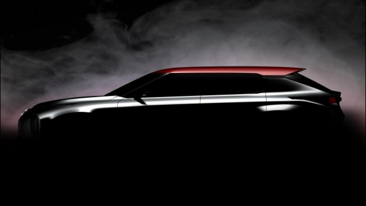 [Copertina] - Mitsubishi Ground Tourer Concept, primo teaser del maxi-SUV
