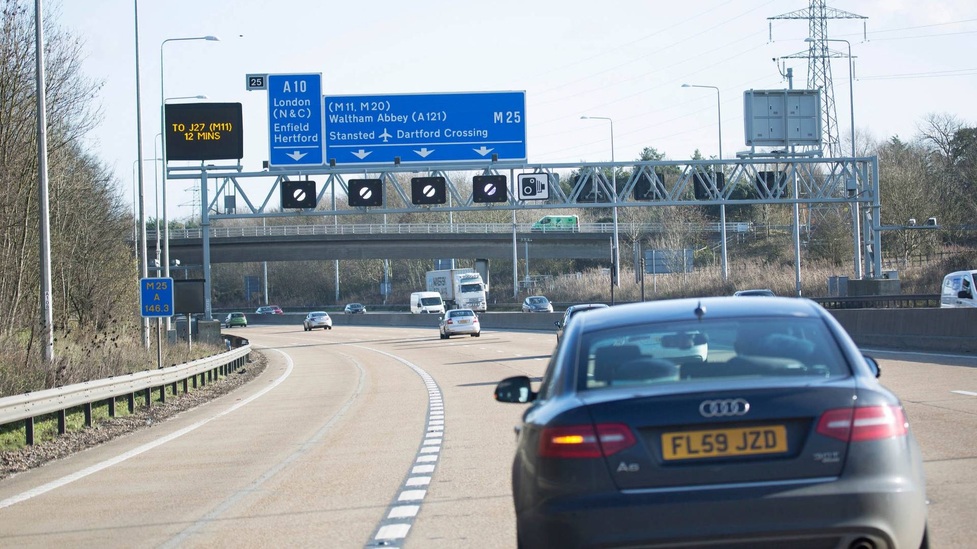 Drivers say smart motorways are more dangerous than conventional roads
