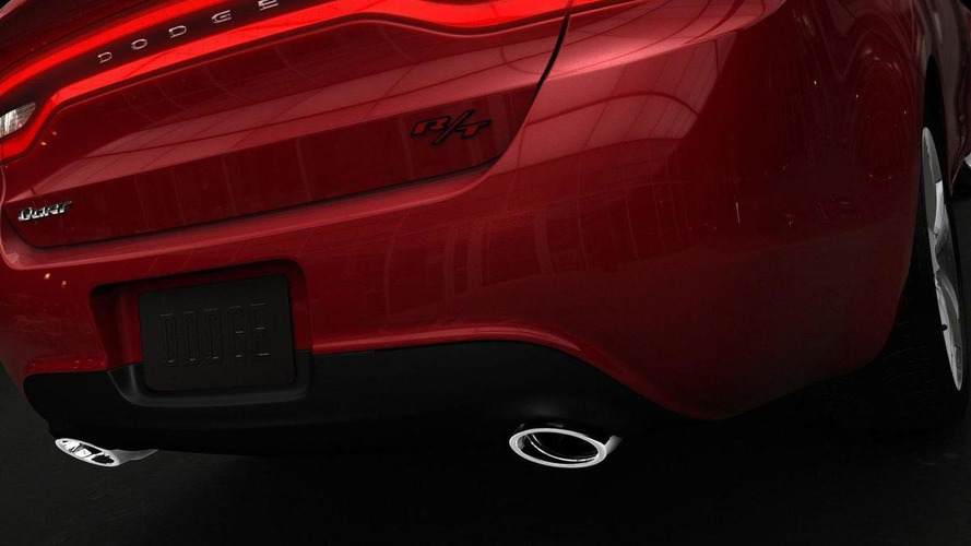 All-new 2013 Dodge Dart compact sedan teased for Detroit