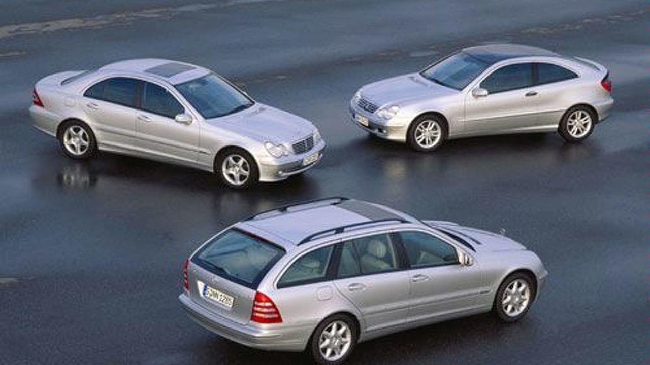 Mercedes-Benz C-Class vehicles