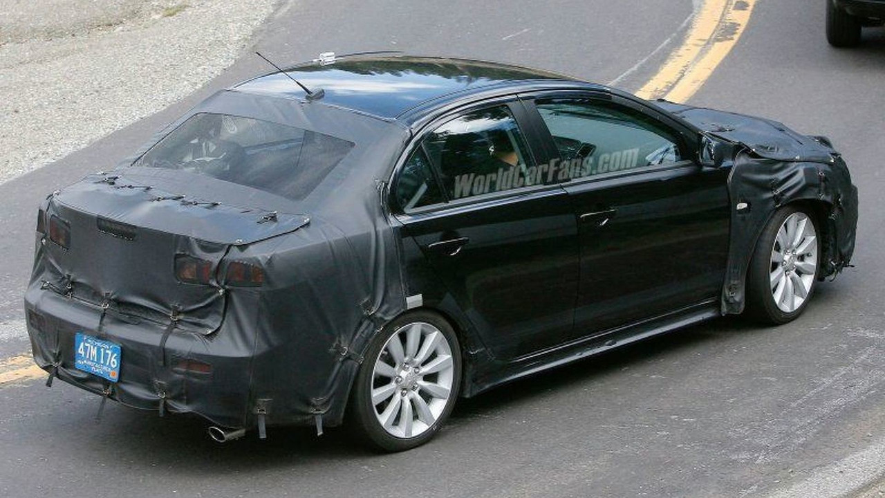 Spy Photos: New Mitsubishi Lancer