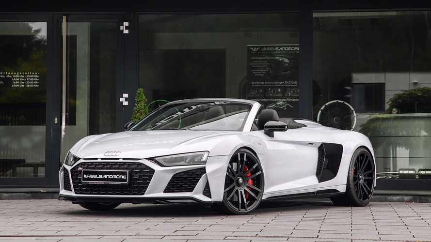 Audi R8 by Wheelsandmore: ¡más de 1.000 CV!