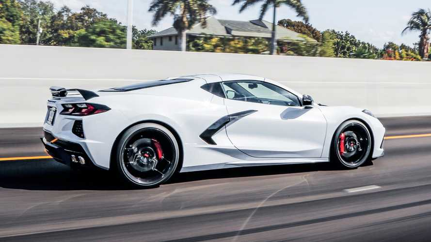 2020 Chevrolet Corvette Vossen Wheels