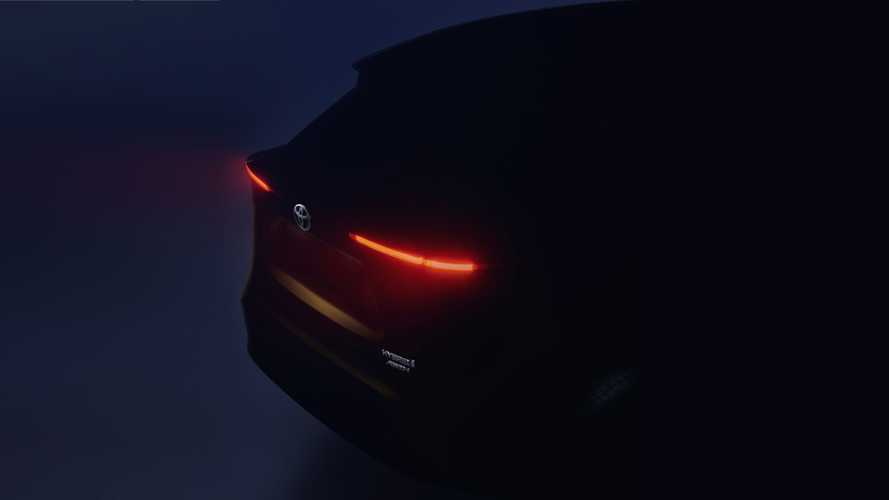 Toyota Small Crossover Teased Ahead Of Geneva Debut